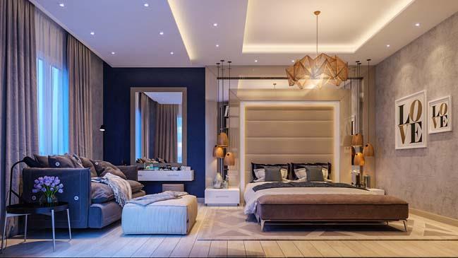 thiết kế nội thất chung cư florence