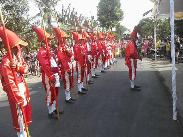 Barisan Lombok Abang Nanggulan Kulon Progo