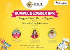 Kumpul Blogger Untuk Mengawal Harta Negara Bersama BPK
