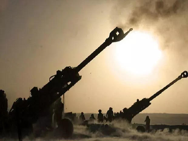 Indian Army tested American M-777 ultra-light howitzer