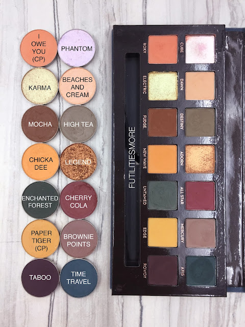 Makeup revolution reloaded palette fever