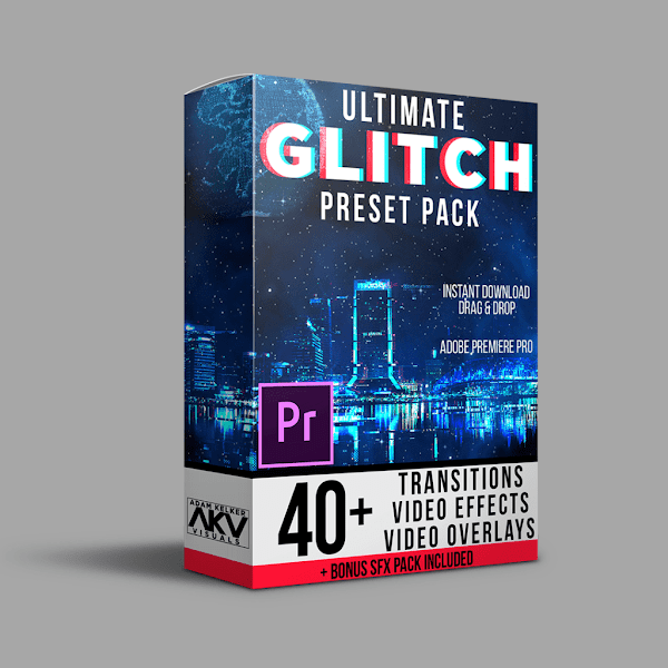 Adobe Premiere Pro Effects Preset Pack — Pixlcorps