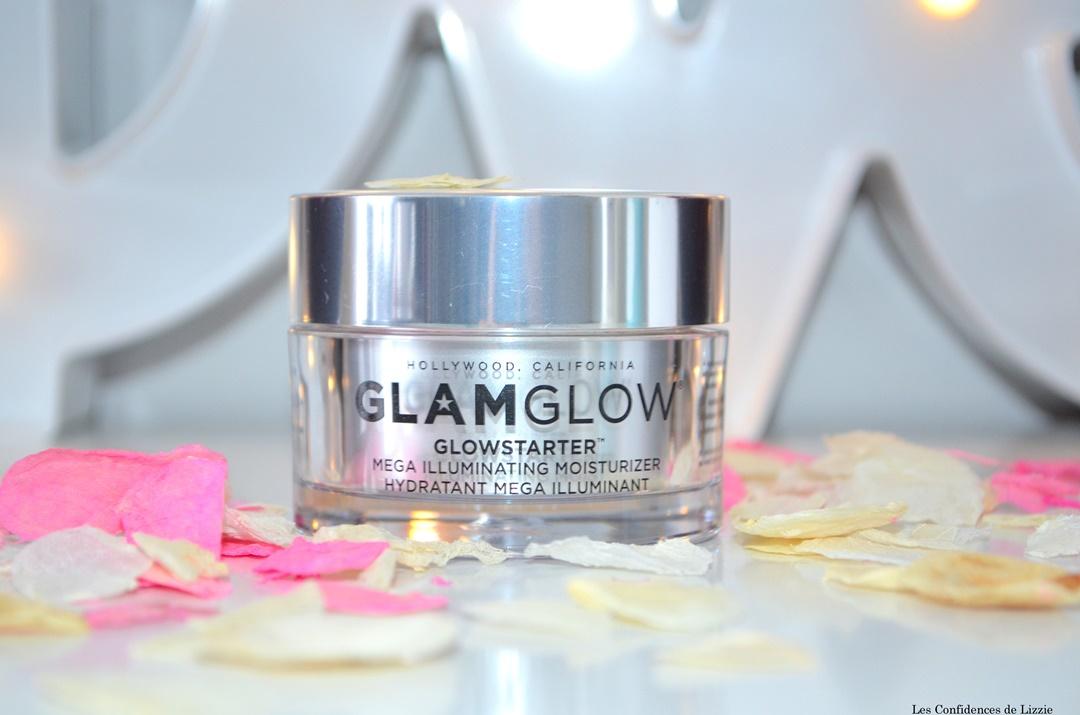 teint - teint lumineux - effet glowy - creme hydratante - glamglow - soin - mega illuminant