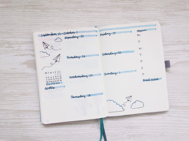 My General Life | I love bullet journalling, and so today I thought I'd share some ideas around how your bullet journal can be helpful for promoting health and wellbeing.