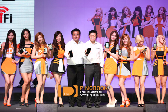 Check out Girls' Generation's clips and pictures from TrueMove H's event in Thailand