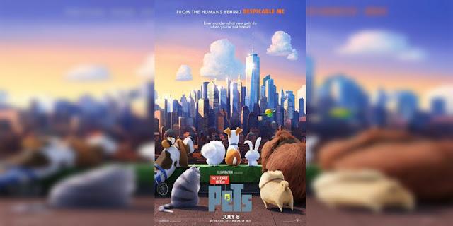 Sinopsis, detail dan nonton trailer Film The Secret Life of Pets (2016)