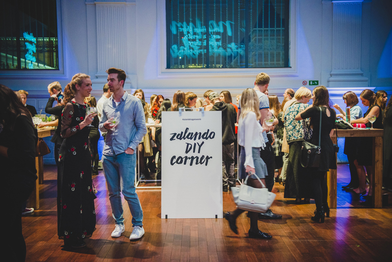 Zalando blogger awards Belgium, 2015