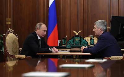 Vladimir Putin, Artur Parfenchikov.