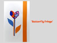 Cover:  Butterfly Fringe, pop up card by Minaz Jantz