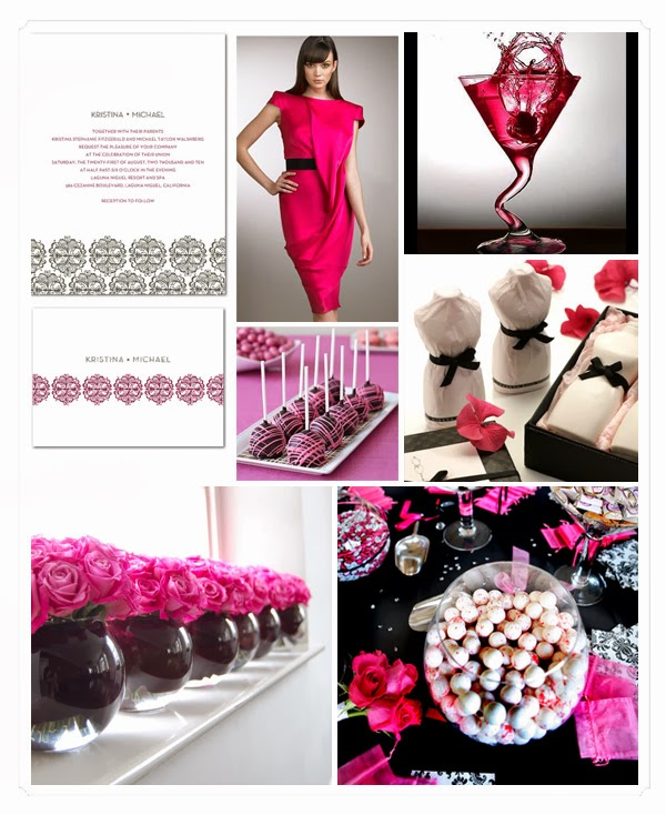 Pink And Black Wedding Ideas: Memorable Wedding: Pink And Black Wedding Style
