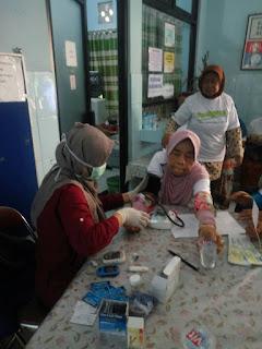 Cek Kesehatan Gratis kpd Warga Kel. Pejaten Timur bersama GEMAHATI & SUSU HAJI SEHAT, 26 Mei 2017 Jakarta Selatan