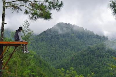 obyek wisata alam rumah pohon banyu anyep karanganyar jawa tengah