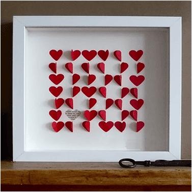 Sevgiliye Kalpli el yapımı hediyeler