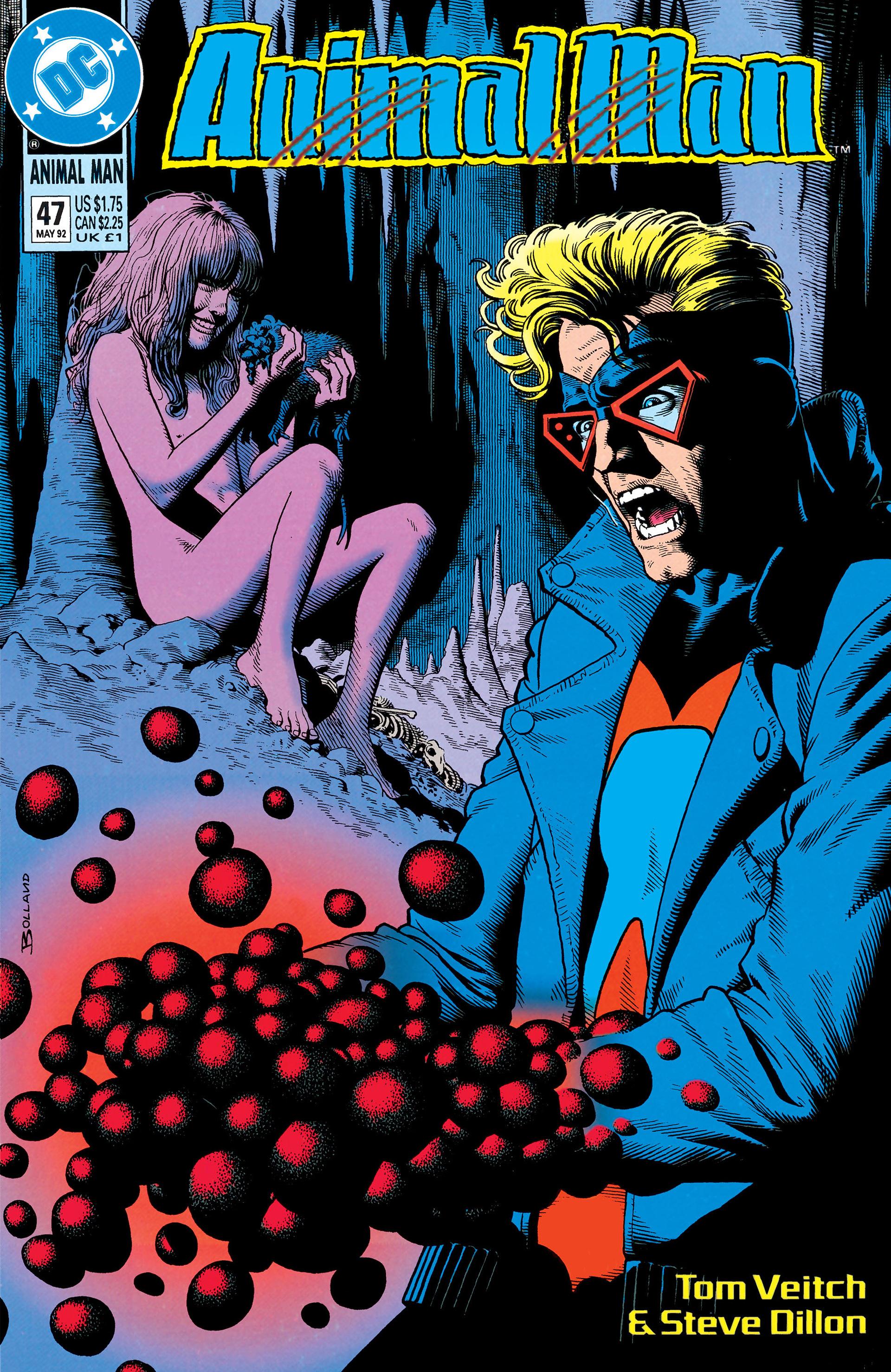 Read online Animal Man (1988) comic -  Issue #47 - 1