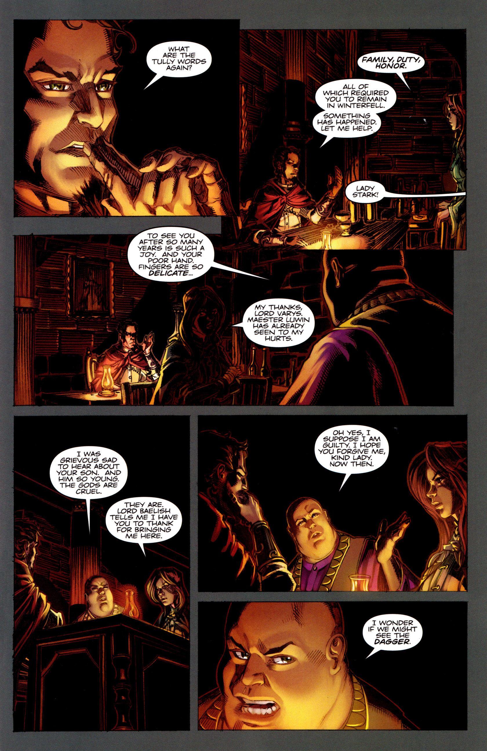 Read online A Game Of Thrones comic -  Issue #5 - 17