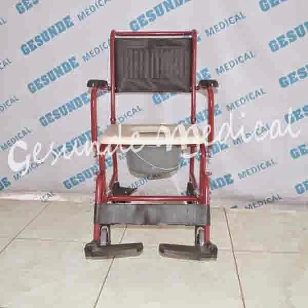 spesifikasi kursi toilet commode chair serenity spek