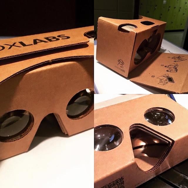 الحصول على عينات من نظارات VR الواقع الافتراضي نظارات 3d مجانا