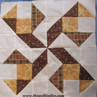 Walking Pin Wheel Quilt Pattern Tutorial