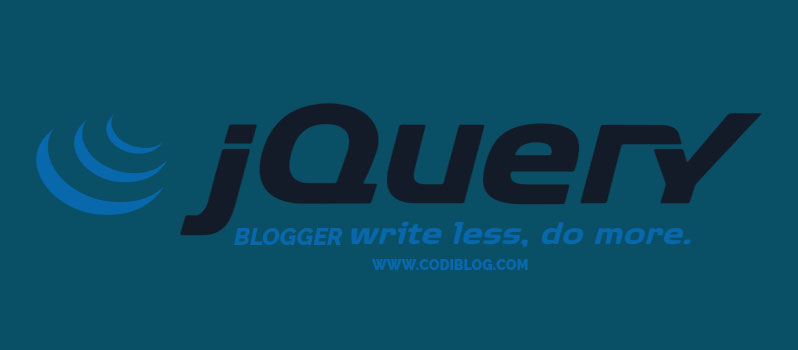 Add jQuery to Blogger