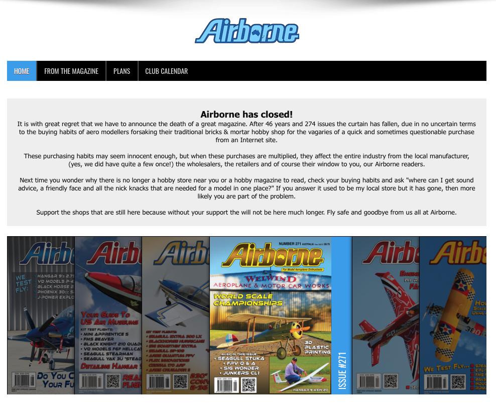 The Building Board: Airborne Magazine