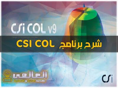 شرح برنامج csi column
