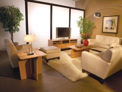 Putih Melambangkan Kebersihan Dan Ruangan Ini Tampak Lebih Luas Dengan Susunan Perabot Yang Sesuai Ruang Tersedia