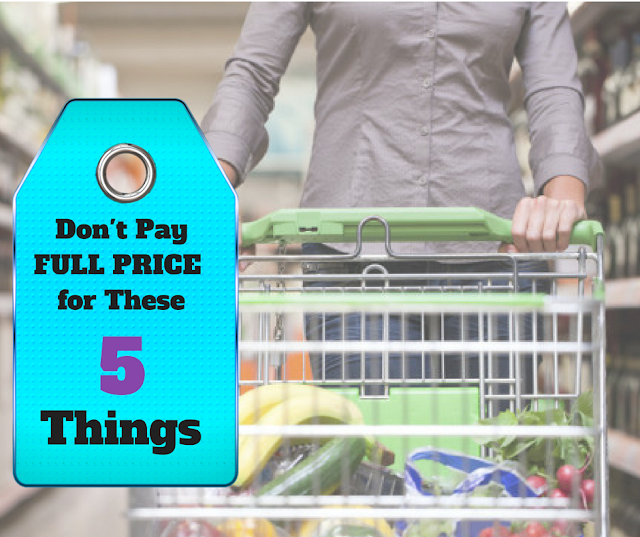 5 Grocery Store Products You Should Never Pay Full Price For