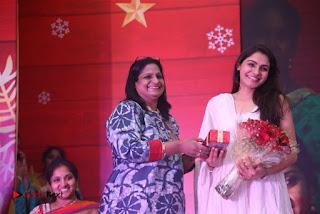Tamil Actress Singer Andrea Stills in White Salwar Kameez at Narayana Group of Schools Carnival Inauguration  0011.jpg