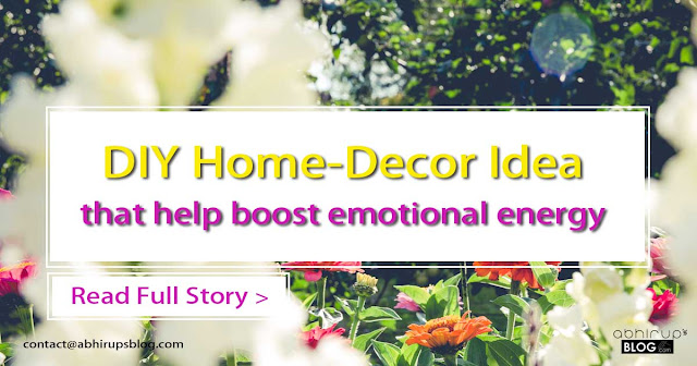 cheap home decor with flower to churn your mood