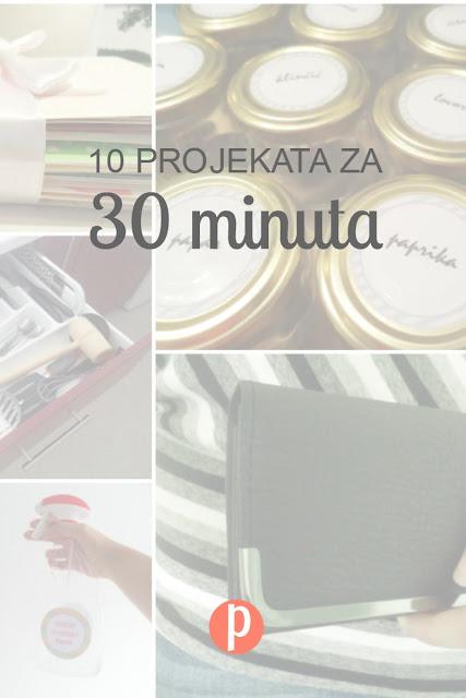 10 organizacijskih projekata koje možete napraviti za manje od 30 minuta