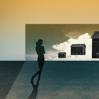 Окно в другой мир. Julien Pacaud (коллаж)