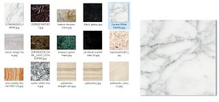 kumpulan Texture material batu marbel
