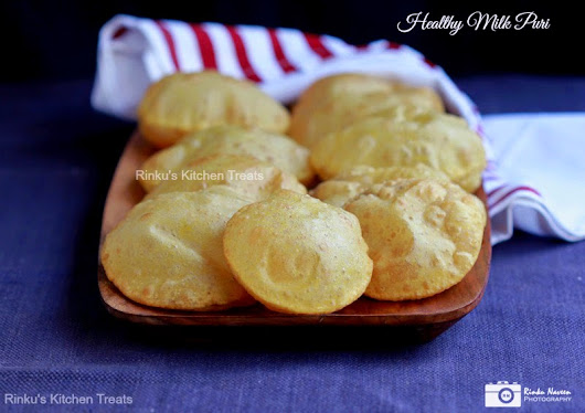 Healthy Milk Puri for Kids