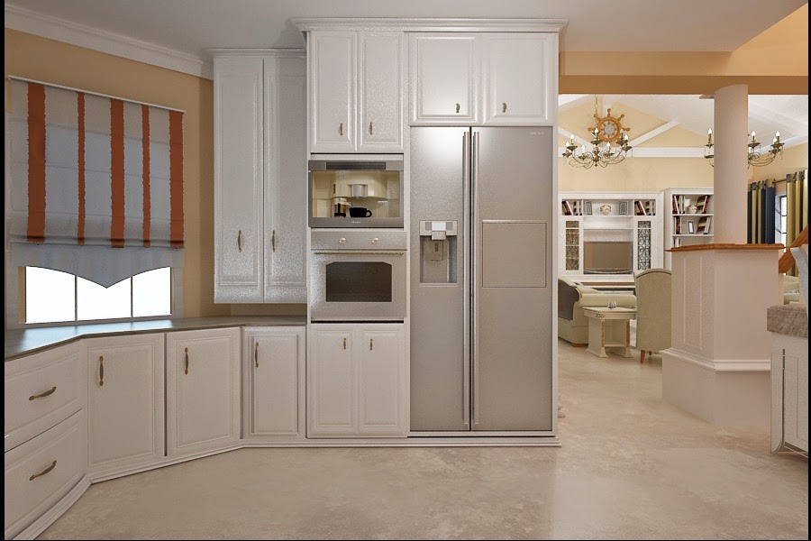 design interior bucatarie clasica
