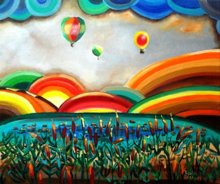 Сочные и яркие краски