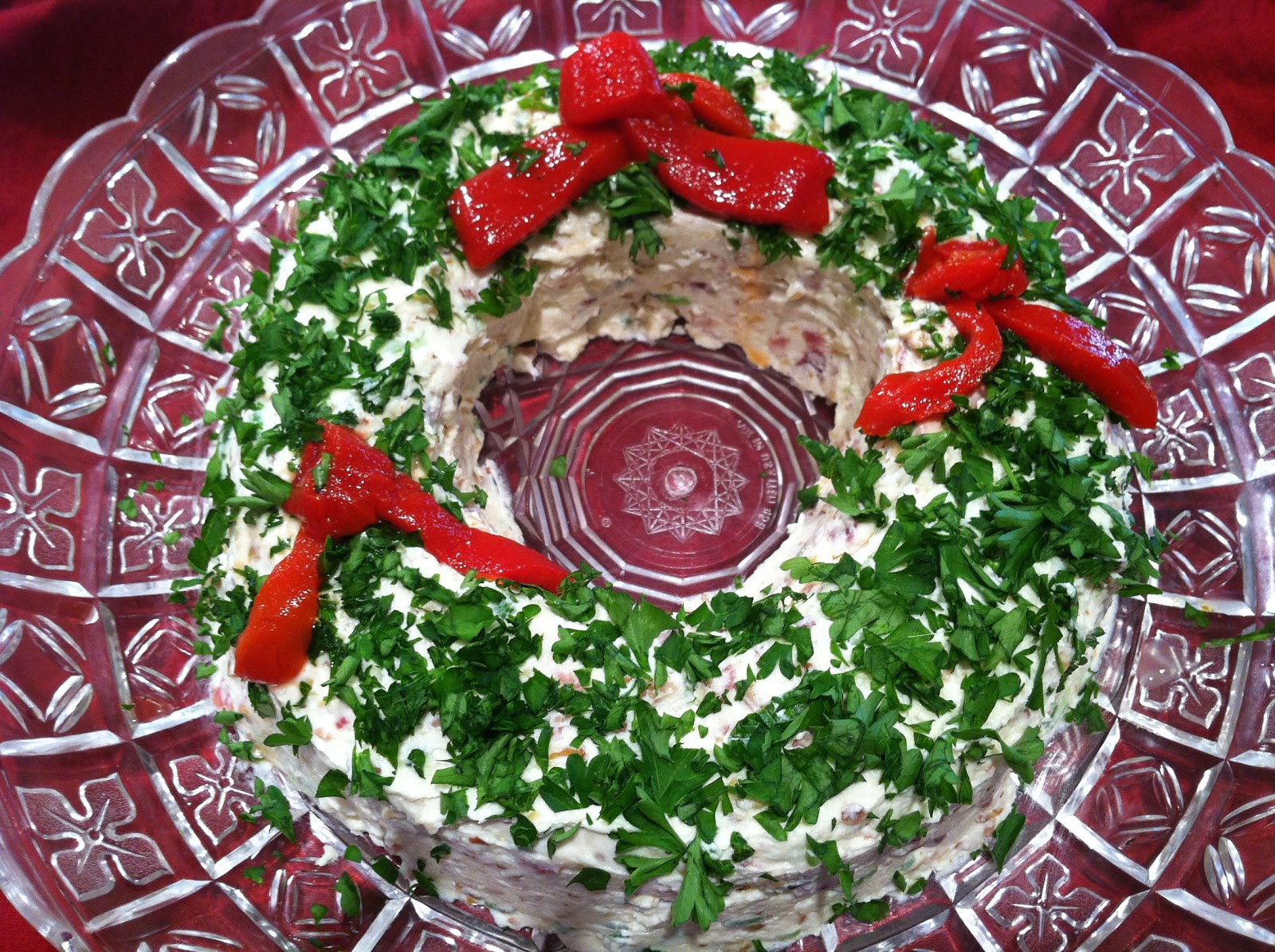 Everything Tasty From My Kitchen Christmas Wreath Appetizer