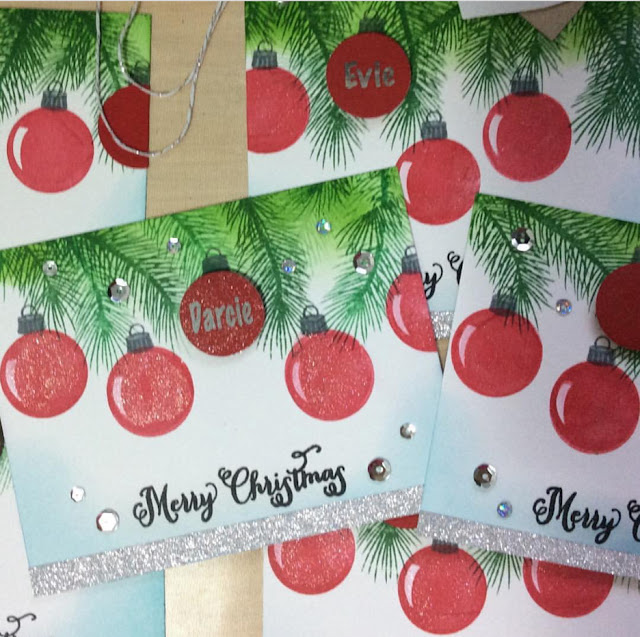 Sunny Studio Stamps: Sunny Saturday Holiday Style Customer Card Share by Veesea Creations