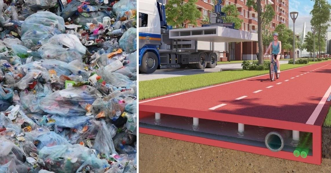 H Ολλανδία πέτυχε το ακατόρθωτο και κατασκευάζει τους δρόμους της από ανακυκλωμένα πλαστικά