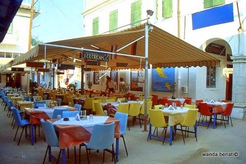 Tipica taverna a Gaios, capoluogo di Paxos