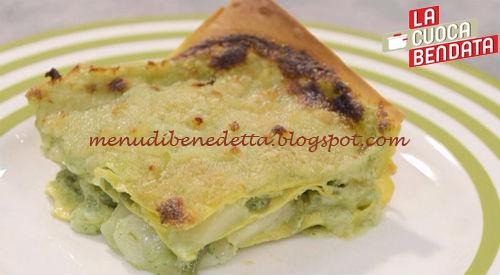 La Cuoca Bendata - Lasagne alla genovese ricetta Parodi
