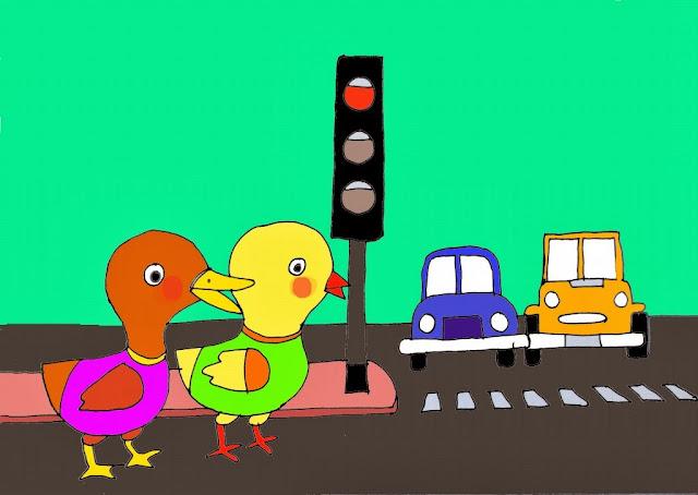 Bộ tranh mẫu giáo 5-6 tuổi theo chủ đề giao thông