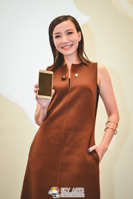Lynn Lim with her Note 5