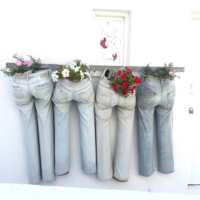 doniczki ze spodni