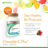 Vitamin c shaklee; Chewable-c plus; vVita C; Shaklee vitamin c; vitamin c kanak-kanak; Shaklee labuan;