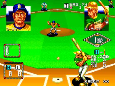 街機-棒球之星2+作弊碼金手指,好玩的棒球運動遊戲!