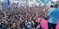 Kampanye di Lombok, Puluhan Ribu Massa  Teriak 'Prabowo Presiden'