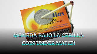 Moneda bajo la cerilla, FIRE GLUE, Coin under the match