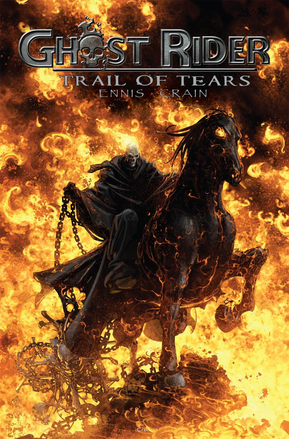 Read online Ghost Rider: Trail of Tears comic -  Issue #6 - 1