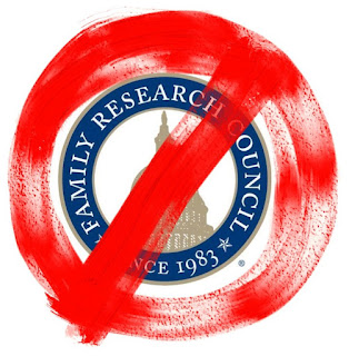 Avoid donations to the Hate Group Family Research Council