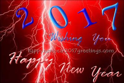 new year 2017 wish you HD greetings